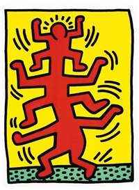 growing, [1] by keith haring